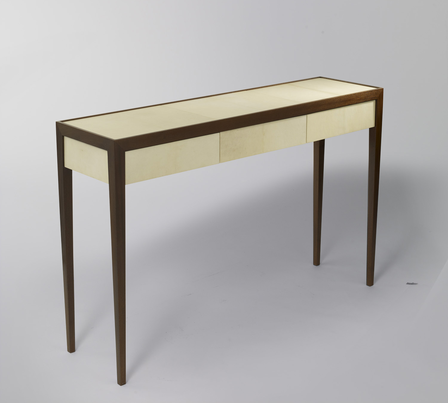 console table with drawers -